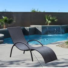 Curved Wicker Patio Furniture - sd057 curved wicker outdoor lounge chair u2013 city schemes