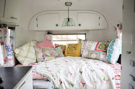 Camper Bunk Bed Sheets by Explore A Tour Of Our Trailer Ashleyannphotography Com