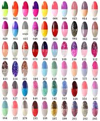 perfect summer new 8ml gel polish temperature colors changing uv