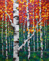 fall in love with autumn new colourful fall birch and aspen tree