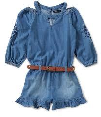 kids girls jumpsuits u0026 rompers dillards com