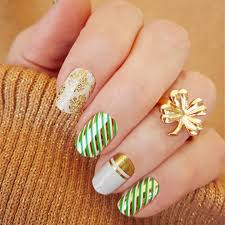 8 st patrick u0027s day nail art ideas that will give you all the luck
