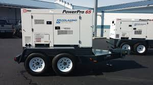 mmd powerpro 65 65kva diesel portable generator demo unit with