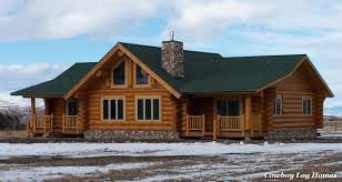 ranch style log home floor plans plans lofts can used ranch style log homes cowboy home plans