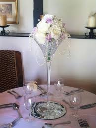 Large Martini Glass Centerpieces by Appealing Rectangle Red Luxury Plastic Inside Flowers In A Martini