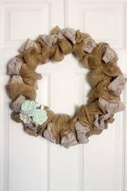 burlap u0026 wreath frugal mom eh