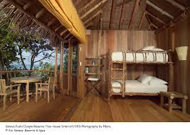 modern tree house interior