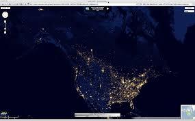 World Map At Night by The U201cblack Marble U201d City Lights At Night Cimss Satellite Blog
