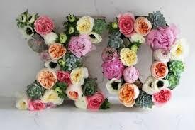 wedding backdrop letters 23 flower letters ideas for your wedding decor weddingomania