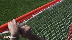 kwik goal u0027s official lacrosse goal assembly instructions youtube