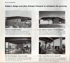 eichler plans eichler article house home july 1955 flickr