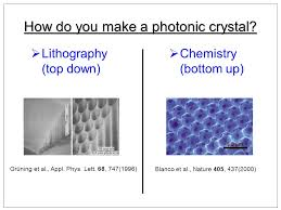 overview of course capabilities of photonic crystals applications