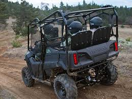four seat 2014 honda pioneer 700 4 four seater side x side review atv