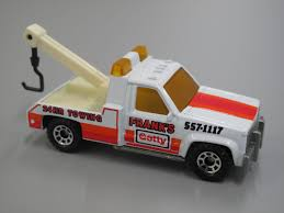 matchbox porsche 944 toy matchbox tow truck gmc wrecker u0027frank u0027s getty 24 hr towing