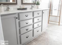 Grey Washed Cabinets Painted Bathroom Cabinets Lady Laura Kate Jennifer Terhune