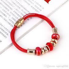 european charm bracelet clasp images 2018 crystal european bead p charm bracelets rose gold leather jpg