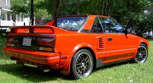 toyota mr2 brief about model