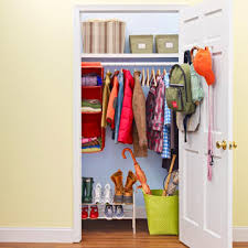 organize your hall closet family circle