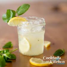 lemon drop martini mix carbonated drink recipes sodastream australia