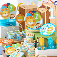 Birthday Decoration Ideas For Boy First Birthday Party Supplies Woodies Party