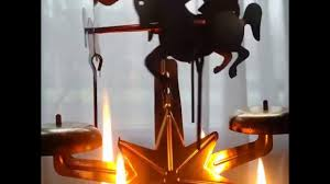 candle chimes carousel