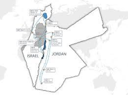 Jordan World Map by Jordan Guided Tours Cyplon Holidays