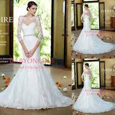 aliexpress com buy mermaid islamic wedding dress with long