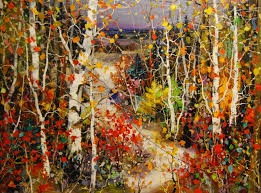 tinyan chan oil paintings at a scottsdale art gallery on main