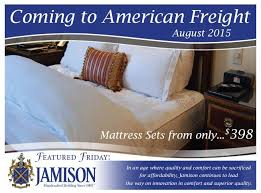 American Bedding Mattress 161 Best Featured Fridays With American Freight Buyers Images On