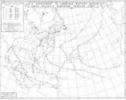 Hurricane Tracking Map Hurricane Debbie 1961 Boards Ie