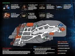 past themes of halloween horror nights behind the thrills halloween horror nights 22 map is released
