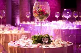 wedding table centerpieces glass wedding table centerpieces