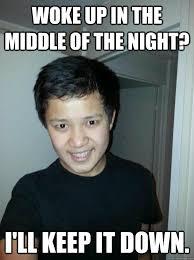 Unwanted House Guest Meme - unwanted asian house guest memes quickmeme