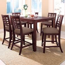 diningroom furniture tall dining table with side chair in dining room