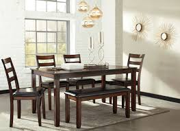 Hamlyn Dining Room Set by Coviar Brown 6 Piece Dining Room Set From Ashley Coleman Furniture