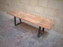 reclaimed wood bench interiors design
