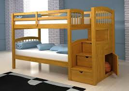 Make Wood Bunk Beds by Wood Bunk Bed Plans Home Design Ideas