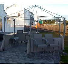 Garden Winds Pergola by Kmart Martha Stewart Garden Melrose Replacement Gazebo Canopy And
