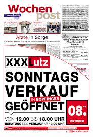 G Stige K Hen L Form Die Wochenpost U2013 Kw 40 By Sdz Medien Issuu