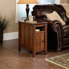 hardwood 10 inch chairside end table classic living room with sauder carson forge side table washington