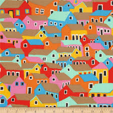 kaffe fassett home decor fabric kaffe fassett marble shanty town bright discount designer fabric