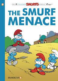 smurfs hc vol 22 smurf menace smurfs graphic novels peyo