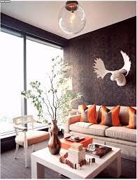 Wohnzimmer Deko Mediterran Gemütliche Innenarchitektur Wohnideen Wohnzimmer Orange