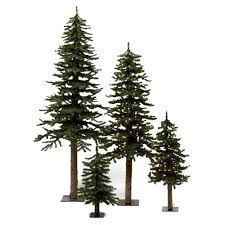 alpine tree lights decoration