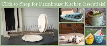 Urban Farmhouse Kitchen - vintage inspired urban farmhouse decor by marmalade mercantile