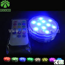 battery operated led lights with remote and waterproof dimmable