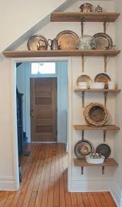 Open Cabinet Kitchen 2001 Best Open Shelving Images On Pinterest Open Shelving
