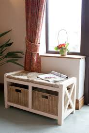 Bench With Storage Baskets by Best 25 Hallway Storage Bench Ideas On Pinterest Utility Room