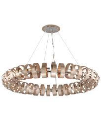 Large Pendant Lights Corbett Lighting 191 418 Recoil 60 Inch Wide 18 Light Large