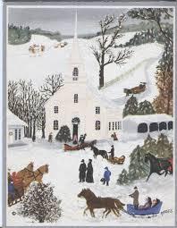 will moses christmas cards vintage hallmark christmas card moses church christmas